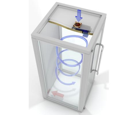 Air flow fizz box