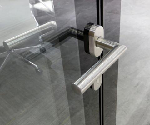Flush Glazed swing door