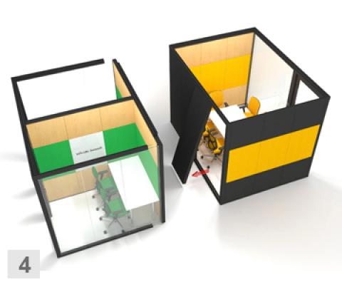 MODULAR MEETING SPACE