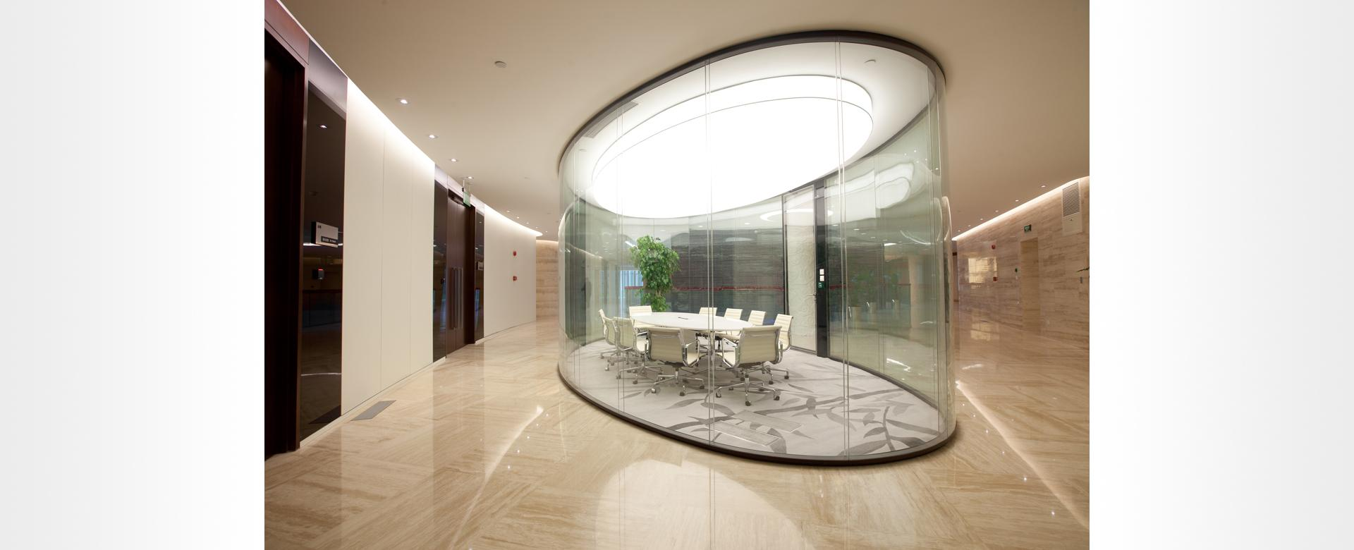 curved partitions
