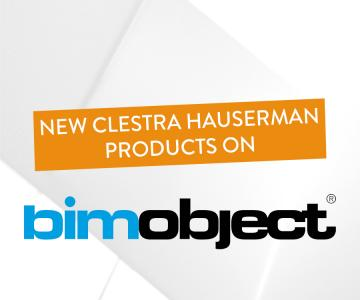 New Clestra Hauserman products on BimObject